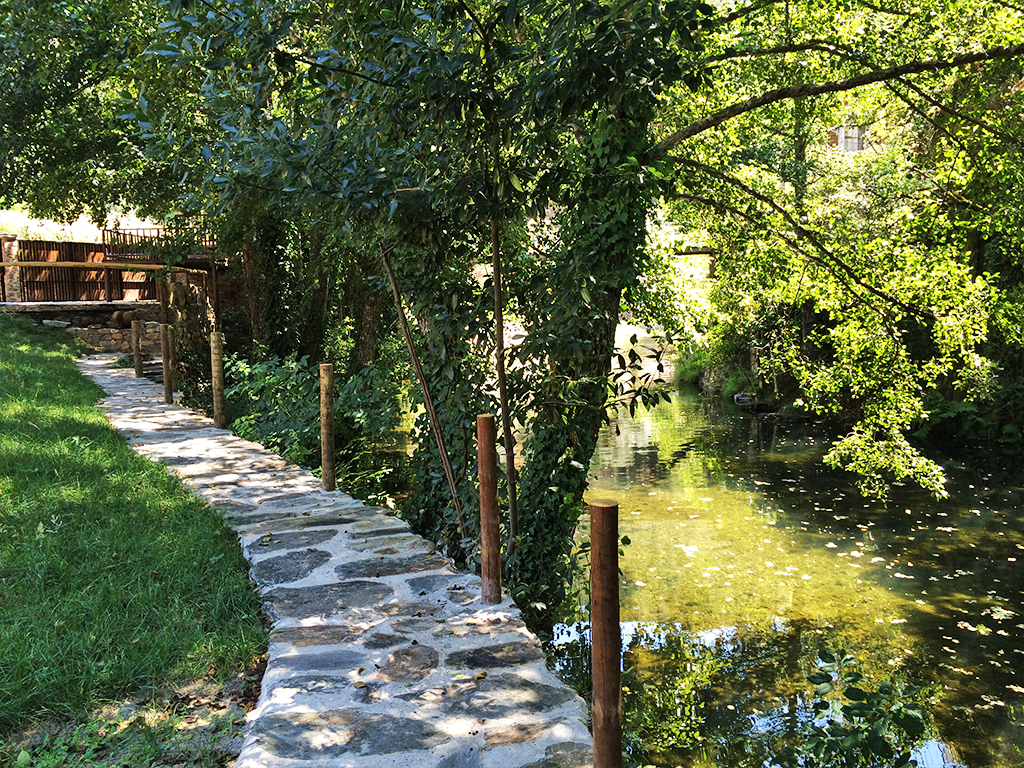 O Jardim e o Rio